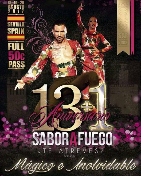 13+1 Aniversario de SABOR A FUEGO