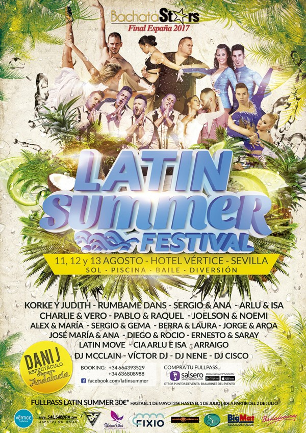 LATIN SUMMER FESTIVAL 2017