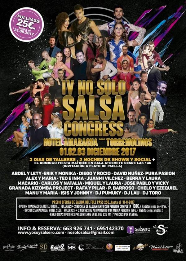 IV NO SÓLO SALSA CONGRESS