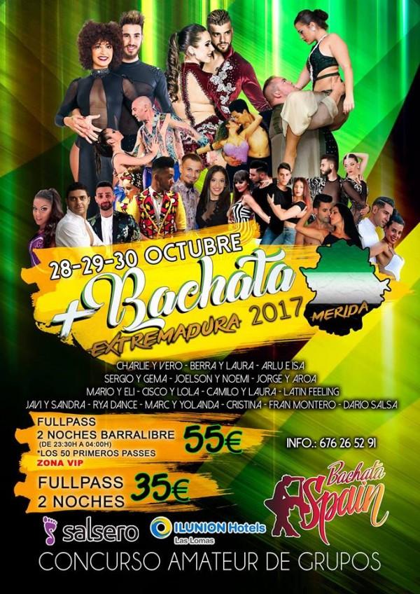 Mas Bachata Extremadura (Merida)