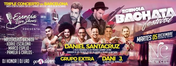 Daniel Santacruz, Dani J & Grupo Extra en NEW CEL BCN