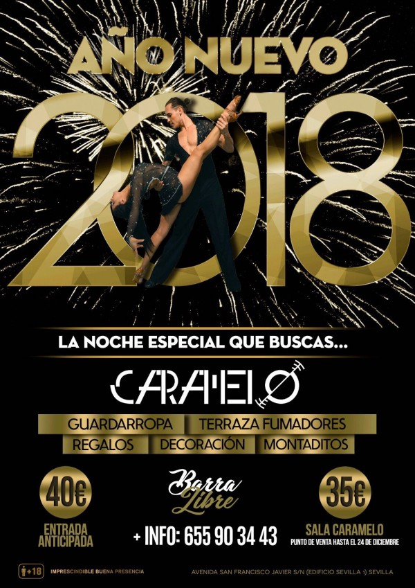 AÑO NUEVO 2018 CARAMELO