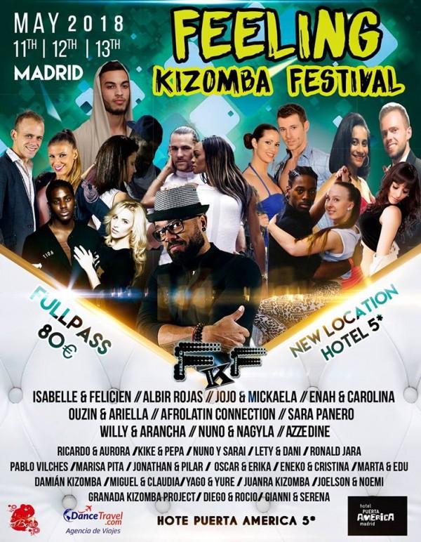 FEELING KIZOMBA FESTIVAL 2018