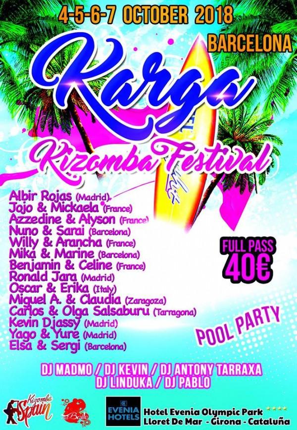 KARGA KIZOMBA FESTIVAL 2018