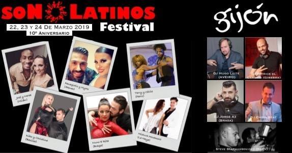 X Son Latinos Festival Gijón