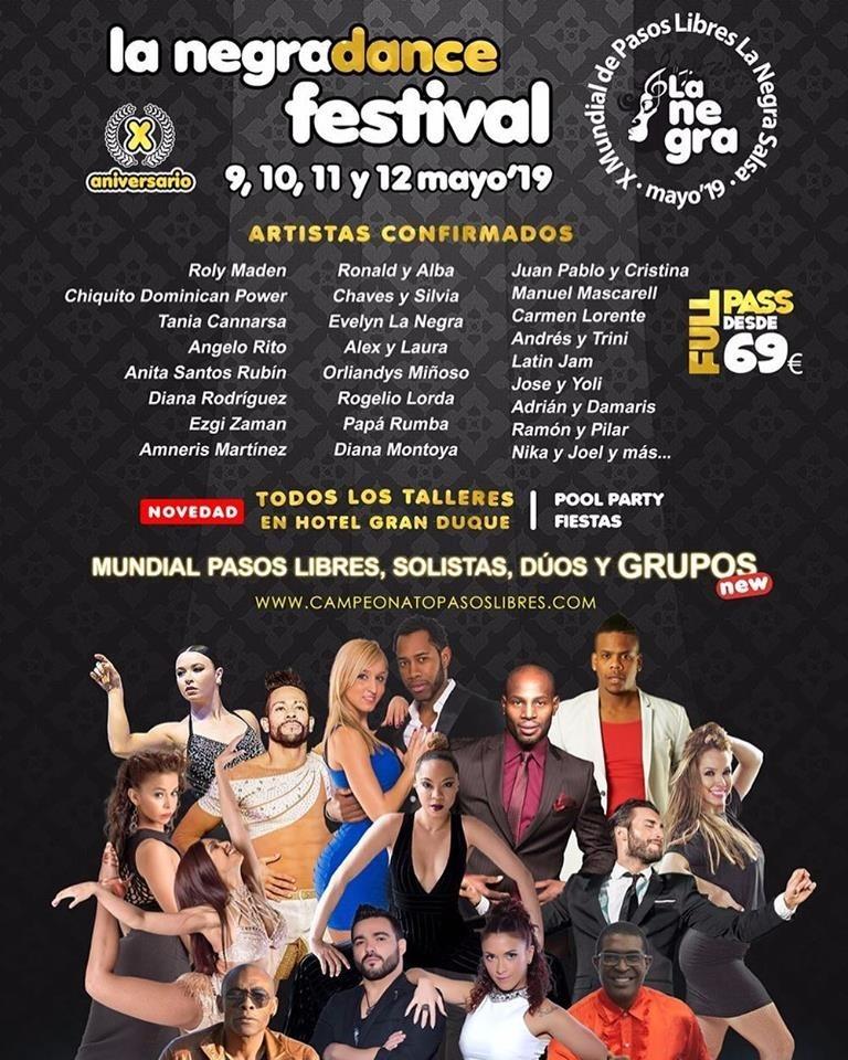 La Negra Dance Festival 2019
