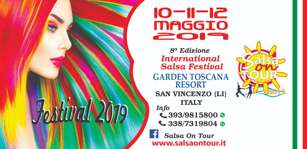 SALSA ON TOUR   INTERNATIONAL SALSA FESTIVAL IN ITALY