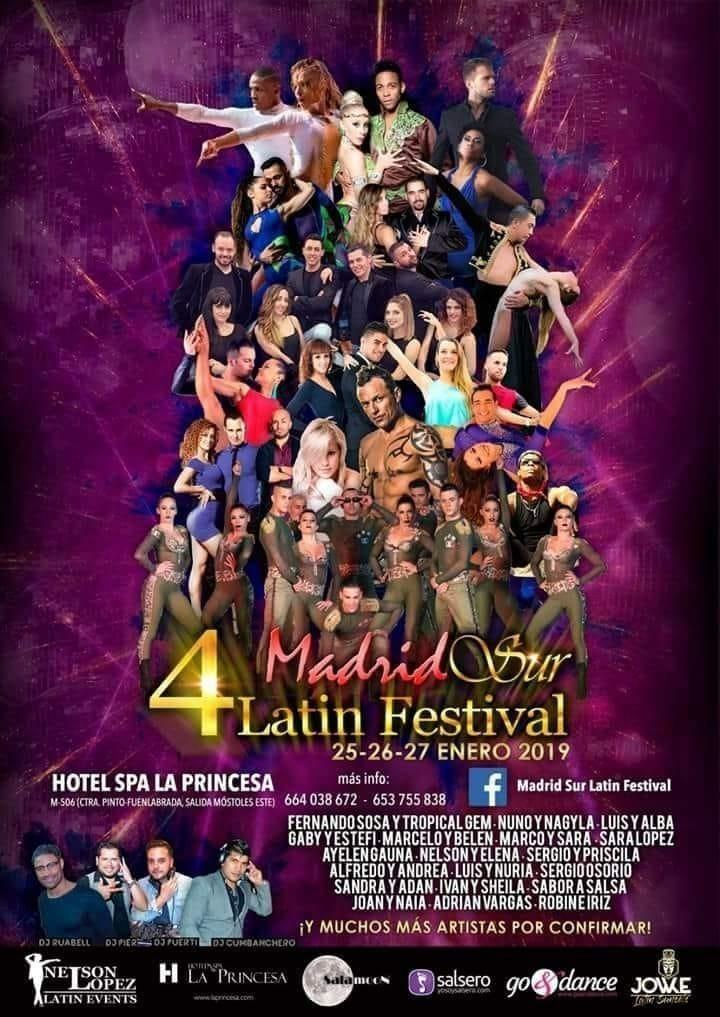 Madrid Sur Latin Festival 2019