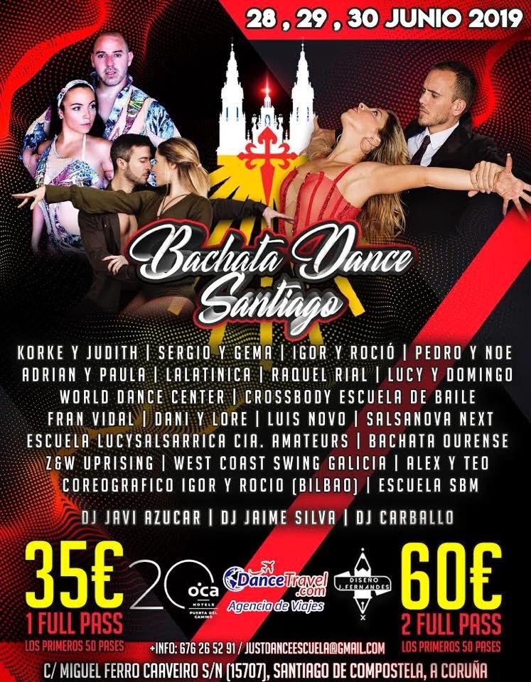 Bachata Dance Santiago 2019
