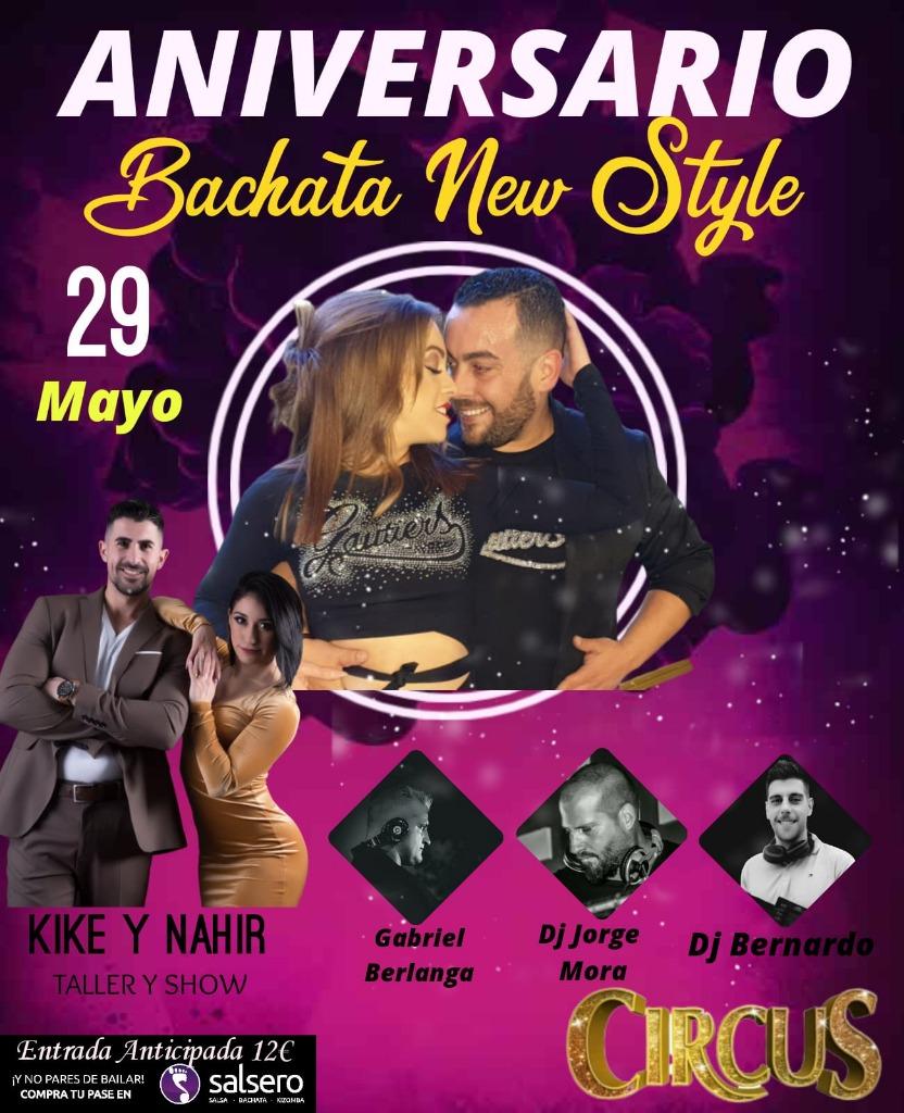 Aniversario Bachata New Style. Patri & Gonzalo