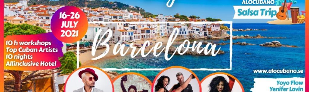 Barcelona Timba Playa Sol! Salsa Trip with Alocubano Festival July 2021