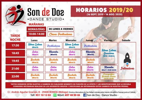 estudio de baile SON DE DOS